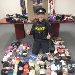 Manuela Byrnes and her over 500 pairs of Socks