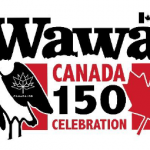 Municipality Unveils Logo for Wawa Celebrates 'Canada 150'