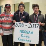 Une Toute Première Bannière de Curling NSSSAA!