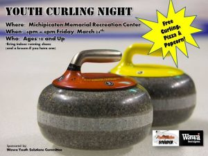 Youth Curling Night @ Michipicoten Memorial Community Centre | Wawa | Ontario | Canada
