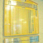 Veteran's Memorial Board