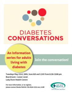 Diabetes Conversations @ LDHC Boardroom