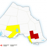Severe Thunderstorm Warning for Chapleau/Missinabie Lake Area