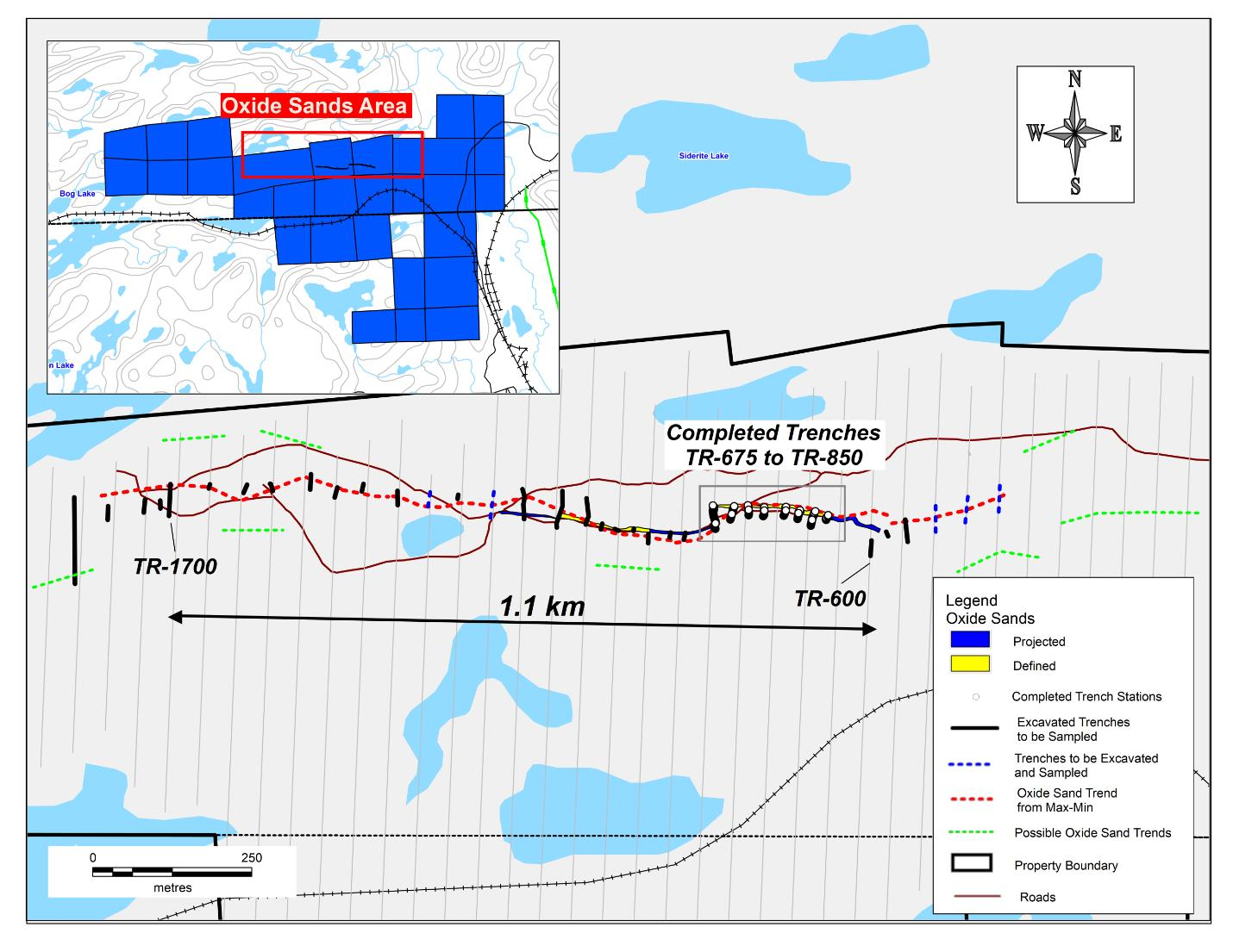 Oxide Sands extended 500m along trend on Wawa-Holdsworth Project ...
