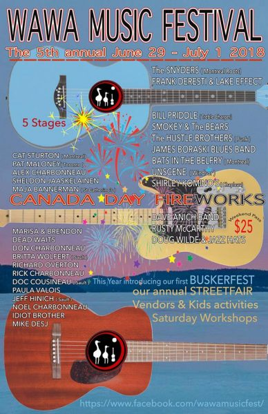 5th Wawa Music Festival