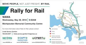 Rally for Rail @ MMCC