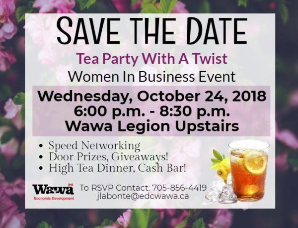 Tea Party with a Twist @ Legion Hall