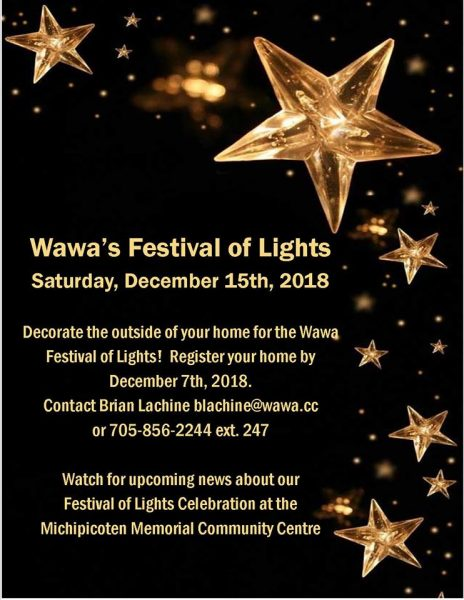 2nd Annual Wawa Festival of Lights