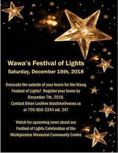 Wawa Festival of Lights 2018 @ Wawa