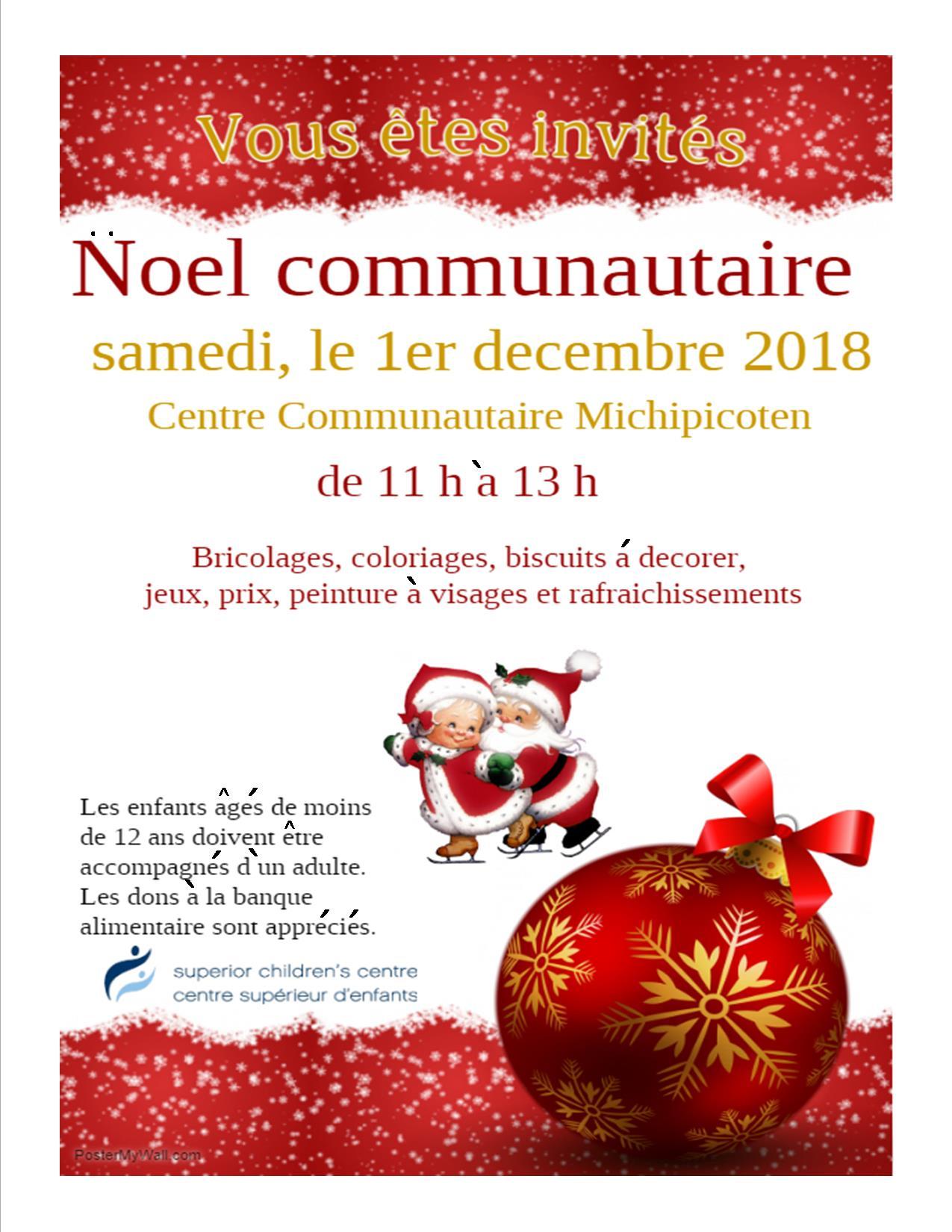 Noel communautaire 2018 – Wawa-news.com