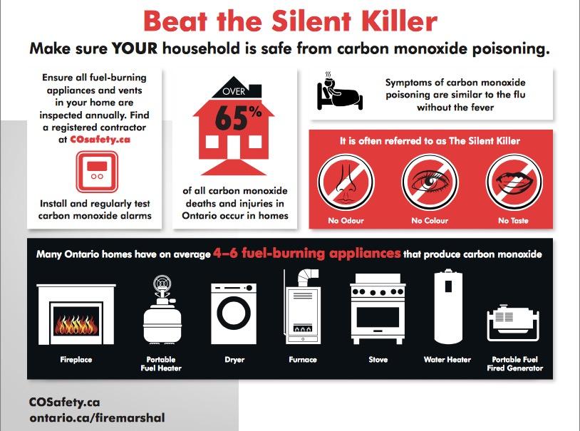 Image result for carbon monoxide awareness week 2019