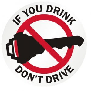 If you drink don't drive!