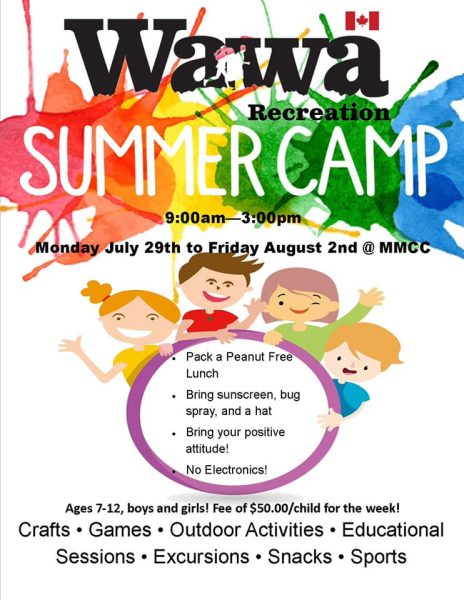Wawa Recreation Summer Camp @ MMCC