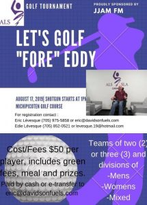 Let's Golf 'Fore' Eddy! @ Michipicoten Golf Course