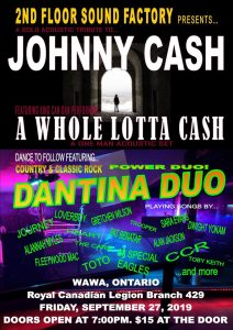 A Whole Lotta Cash & Dantina Duo @ Legion Hall - Wawa