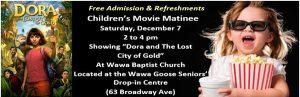 Wawa Baptist Church - Children's Movie Matinee