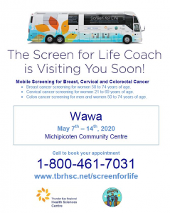Screen for Life Coach @ MMCC