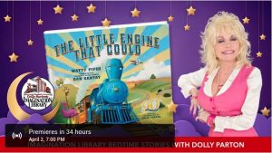 Dolly Parton to Read from Imagination Library