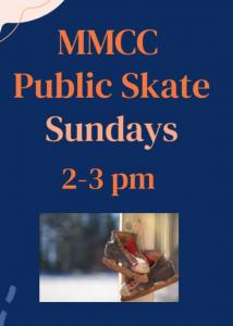 MMCC Public Skate Sundays @ MMCC