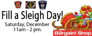 Fill a Sleigh Day @ Wawa Bargain Shop