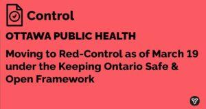 Ottawa goes red - control